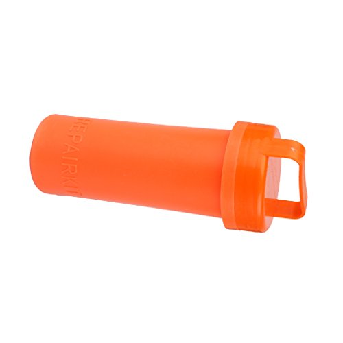 Pvc Reparatur Set Container Eimer Fuer Kajak Schlauchboot Orange (Riemen Reparatur-kit)