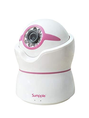 Apexis smarthd Baby Dom Cámara con NCM621W WiFi doméstica–Cámara de Seguridad con 1/3CMOS Sensor la supervisión de Temperatura para Antiguas–Color Rosa
