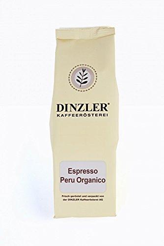 Espresso Peru - ganze Bohne - 250 g - Bio