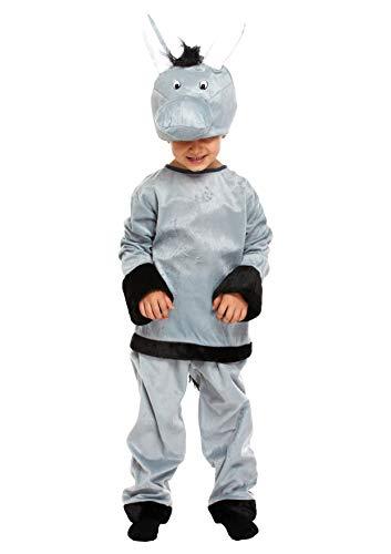 Kostüm Awesome Für Kleinkind - christmasshop Weihnachtskrippe Kinder Esel Kostüm Kostüm - Grey - 79