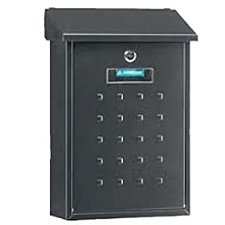 Arregui Premium Letter Box, multicolour, M105553