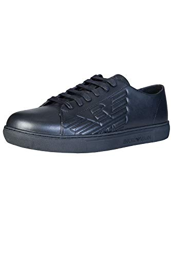 on sale 66723 08315 Emporio Armani X4X238 Sneakers Bassa Uomo Black 42