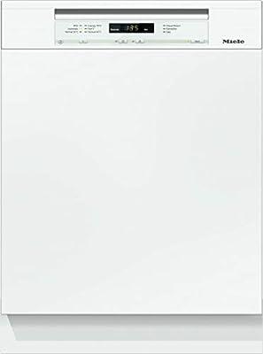 Miele - Lavavajillas G6260 VI D ED230 2,0. Completamente integrado. 234 kWh / 13 mgd / Especialmente ahorrativo. Clase de eficiencia energética A+++ de la Unión Europea / Mejores resultados con consumo de agua a partir de 6,5l 81 cm Brilliantweiß