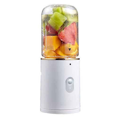 Dbtxwd Batidora Personal, Juicer Cup portátil, batidora eléctrica de Frutas, licuadora USB para Viajes al Aire Libre, Recargable, 350 ML
