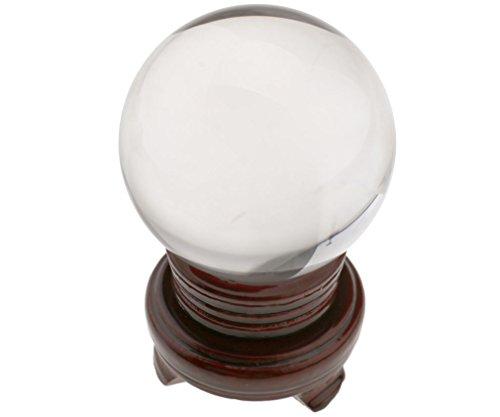 Glaskugel (100mm Glaskugel Kristallkugel Wahrsagerkugel Seherkugel Fengshui Dekokugel Kugel)