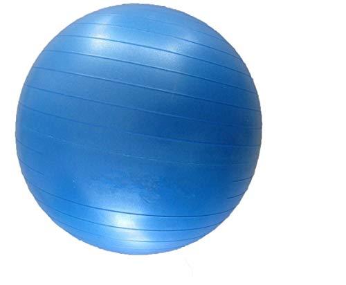 JOWY Pelota Pilates 75 cm Azul Tecnología Antiexplosión