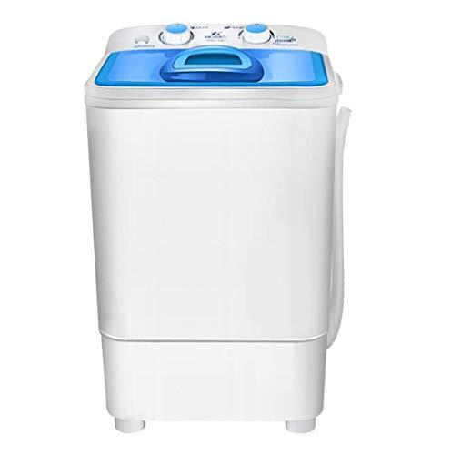 STEAM PANDA Déshydratation Semi-Automatique de contrôle mécanique de la Petite Machine à Laver 5kg + Fonction UV 220v 230w 380 * 340 * 630mm Blue