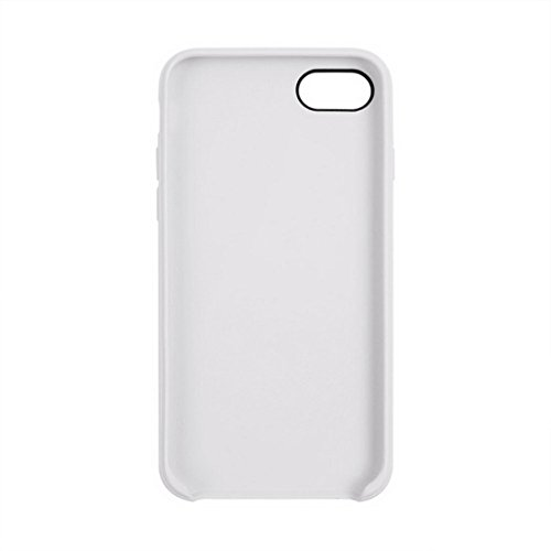 iPhone Case Cover Pour iPhone 7 Classic Smooth Surface Soft TPU Étui de protection ( Color : White ) White