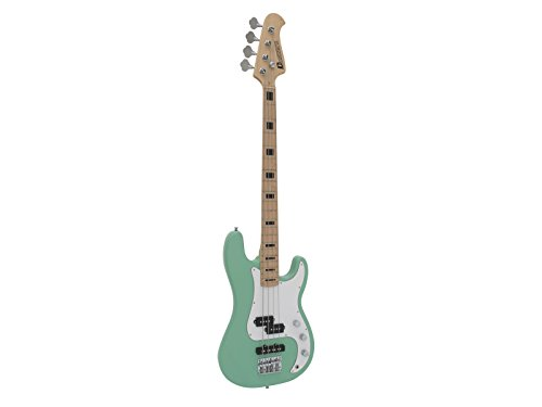 e-bass-foreal-with-body-made-of-poplar-mint-green-vintage-e-bass-retro-ebass-for-starters-klangbeiss