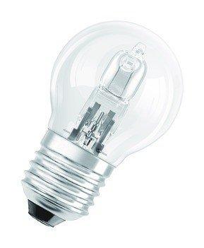 Osram Halogen Tropfenlampe ECO P E14 ball lamp clear 28W EEK: D -