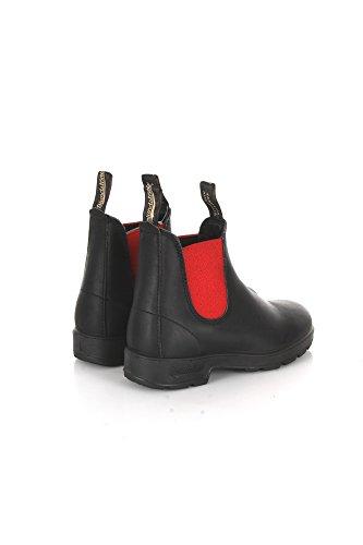 BLUNDSTONE chaussures unisexe beatles 508 BLACK PREMIUM Black/Red