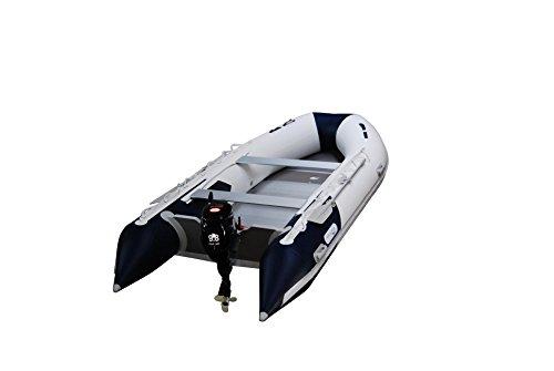 Prowake Schlauchboot mit Motor AL360 Aluboden Schlauchboot 360cm mit Parsun F9.8 PS Motor