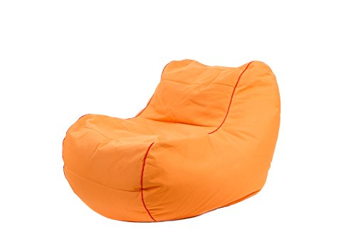 Jumbo Bag 29152-42 Fauteuil Design Chilly Bean Polyester Orange 105 x 75 x 70 cm