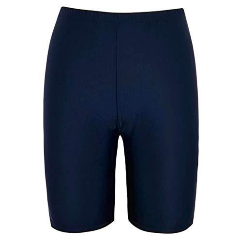Kurze Damen Badehose, Zolimx Elastische Badekleidung für Badeschutz Skinny Capris Badeshorts Trunks Capri-tangas