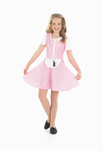 Miss Kostüm Kind Muffet - Little Miss Muffet - Kinder Kostüm
