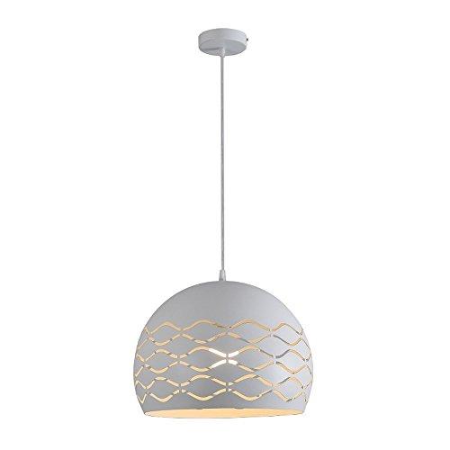 ... Modern Design Pendelleuchte Esstisch Hängeleuchte E27 Kugel  Deckenleuchte Kreative Einfache Hängelampe Aus Metall Lampenschirme Weiß  Pendellampe ...