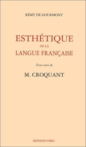 Esthétique de la langue française