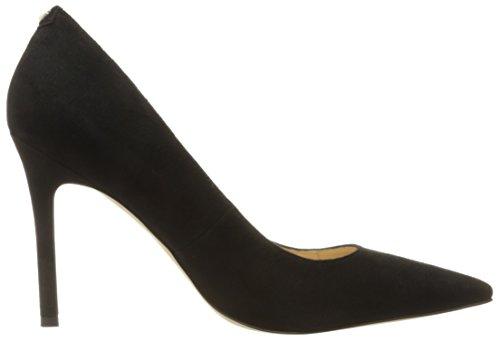 Sam Edelman Hazel, Scarpe con Tacco Donna Nero (Black Suede)