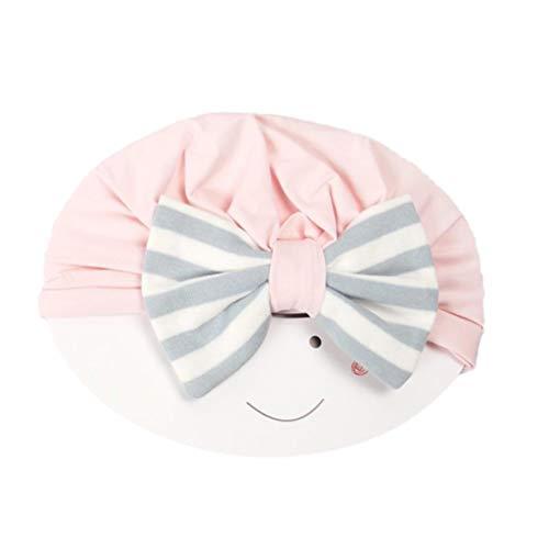 Toyvian Baby Turban Haar Stirnbänder Ribbon Cotton Bow Warm Zubehör für Outdoor und Fotografie Requisiten (Bögen Ribbon)