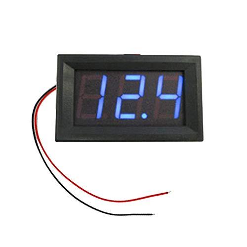0,56 zoll Digital Voltmeter DC 4,5-30 V/DC 4,5-30 V Blaue LED Fahrzeuge Motor Volt Spannung Panel Meter LED Voltmeter 12 V 24 V