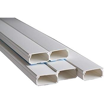 Verbinder Stoss verbinder für Kabelkanal 60 x 40mm PVC Weiß von powerpreis24