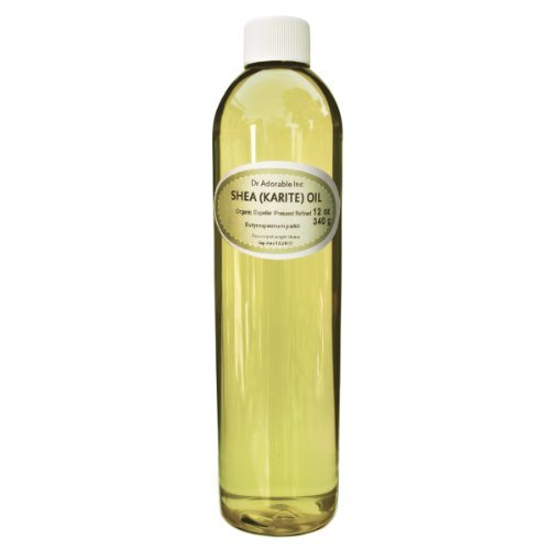 Shea Karite Oil Refined Pure Organic 12 Oz