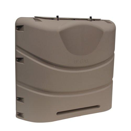 Camco 40555Schwere 9,1kg oder 13,6kg Dual Propan Tank Cover (Bronze)