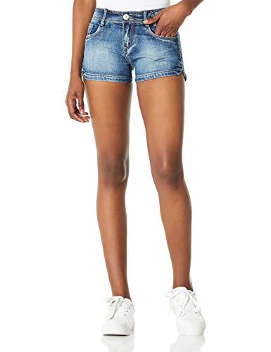 DEMON&HUNTER 601 Shorts Series Mujer Pantalones Vaqueros