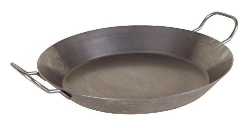 Eisenpfanne 32cm rustikal Bratpfanne Schmorpfanne Steakpfanne Paella Induktion