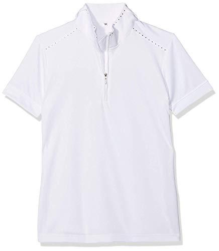 Harry 's Horse, Camiseta de Competición para Niñas, Blanco, 164