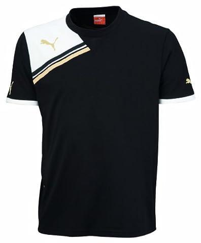 PUMA t-shirt king t-shirt pour enfant 14 ans Noir - Noir/Blanc