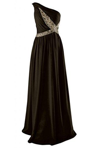 Sunvary romantico a tracolla, taglia unica Plus da Sera Sera-Gowns Pageant Evening Dresses Chocolate