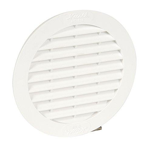 nicoll-1bc110-grille-ronde-avec-moustiquaire-tuyau-100