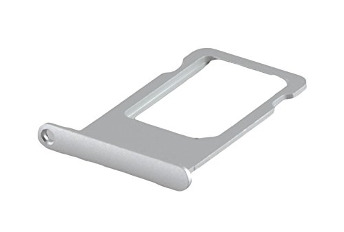 Apple iPhone 6s SIM Karten-Halter Schublade Fach Slot Tray Card Holder Silber (Iphone 6-handy-karten-halter)