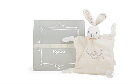 Kaloo K962164 - Perle Schmusetuch Hase 20 cm, crème