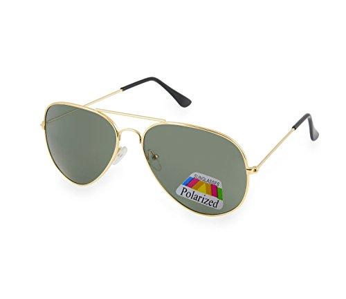 Unisex Aviator Occhiali Da Sole polarizzata Uomo Dona rispecchiata Sunglasses Sport Protezione UV ...