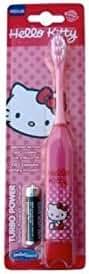 Higiene Dental y Tiritas TB-307‐01 - Cepillo de dientes eléctrico Hello Kitty