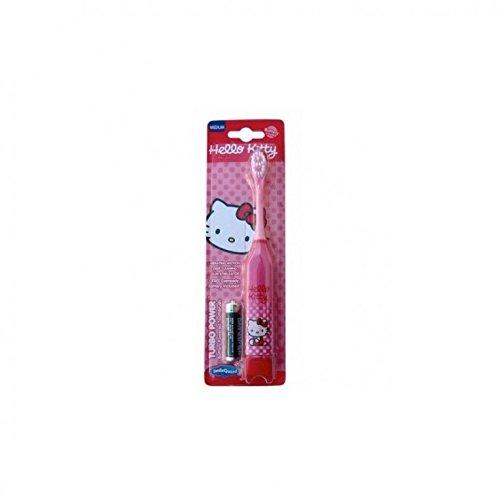 Higiene Dental y Tiritas TB-307-01 - Cepillo de dientes eléctrico Hello Kitty