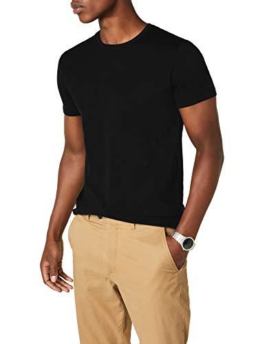 ESPRIT Herren T-Shirt 997EE2K819 Schwarz (Black 001) L