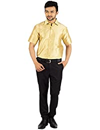 fb10be1e96f78a Silk Men's Shirts: Buy Silk Men's Shirts online at best prices in ...