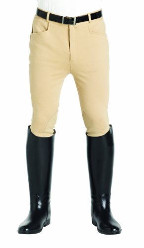 Harry Hall BRMB - Pantalones de hípica, Color Beige, Talla UK: 40 Inch