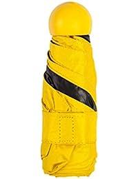 Kentop paraguas paraguas plegable cortavientos paraguas plegable paraguas viaje hombre mujer mini paraguas de color rematada