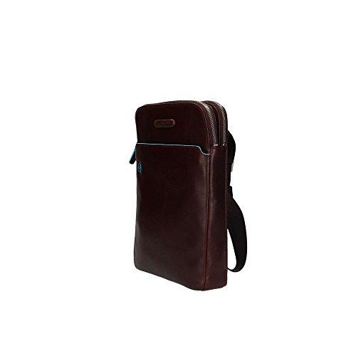 Borsello porta iPad®Air/Pro 9,7 con porta penne Blue Square Marrone