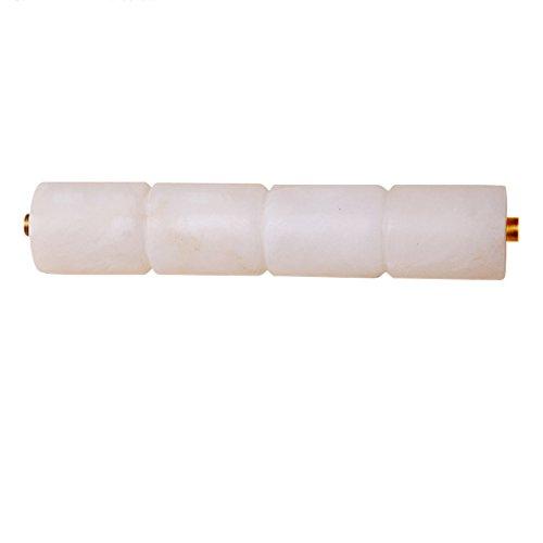 XMM nuovo portato da letto speculari marmo cinesi fari lampada da parete piena di rame comodino lampada trucco illuminazione personalizzata lunga cilindrica(Escluso lo specchio)