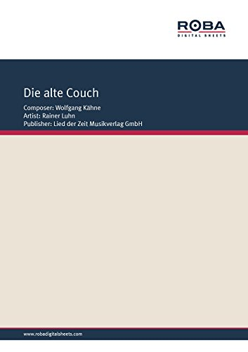 die-alte-couch-as-performed-by-rainer-luhn-single-songbook-german-edition
