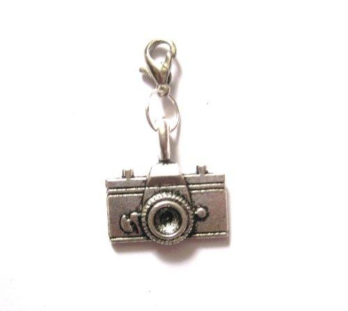 Kamera Charm/Anhänger Modeschmuck Silber-Farben für Armband oder Kette