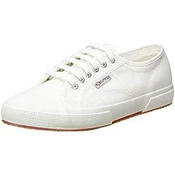 Superga 2750-Cotu Classic, Sneakers Unisex - Adulto, Bianco (901 White), 40 EU