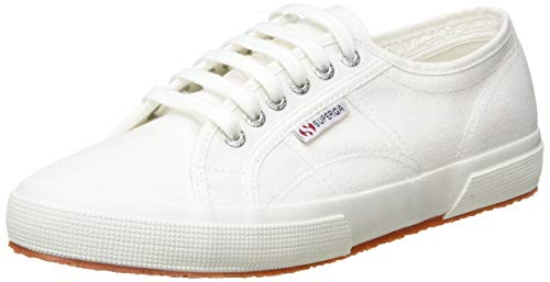 Superga 2750-Cotu Classic, Zapatillas Unisex Adulto, Blanco (Total White 901), 41 EU