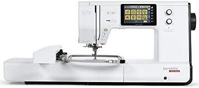 Bernette B79 - Máquina de Coser y Bordar, Incluye 2 módulos de Software de Bordado para Obtener Resultados óptimos de Costura y Bordado y Gran Comodidad
