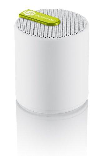 Trust Urban Moki wireless Mini-Lautsprecher (Bluetooth, AUX-In, geeignet für Smartphone/Tablet-PC) weiß